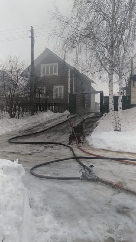 Жители Луховиц поблагодарили огнеборцев ГКУ МО «Мособлпожспас»